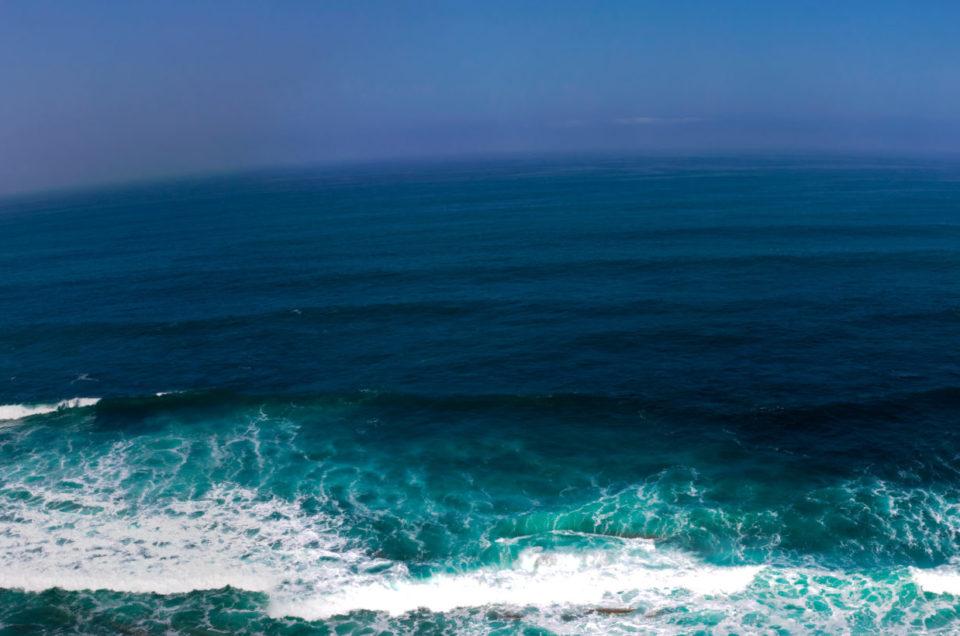 Les déclinaisons de couleurs de l'océan