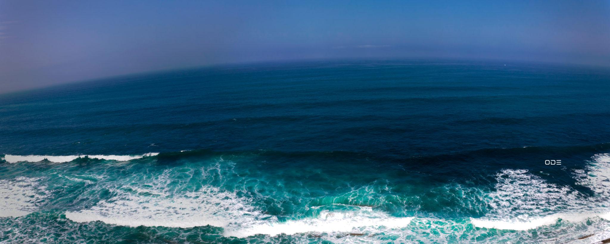 L'océan est ses déclinaisons de bleus
